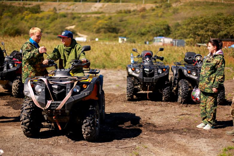Scenic ATV ride