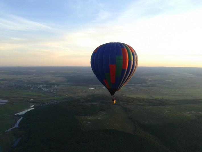 """Полет на воздушном шаре """"Виктория"""""""